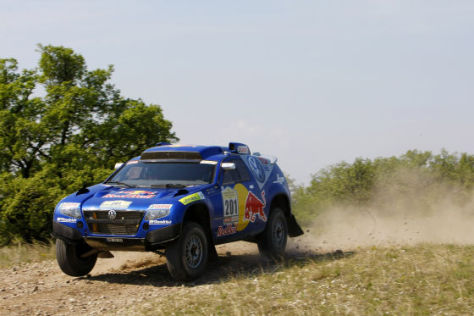 VW Race Touareg 2, Testfahrten in Marokko, August 2008