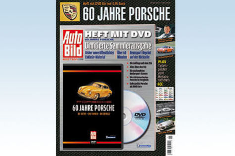 60 Jahre Porsche AUTO BILD-Sonderheft