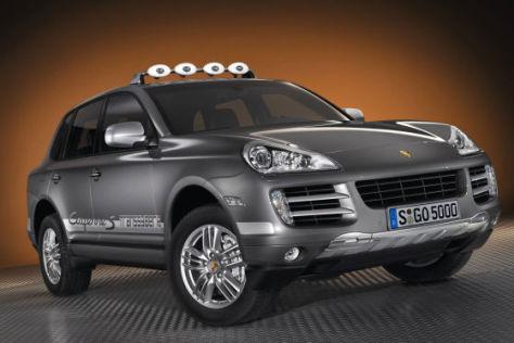 """Porsche Cayenne S """"Transsyberia"""""""