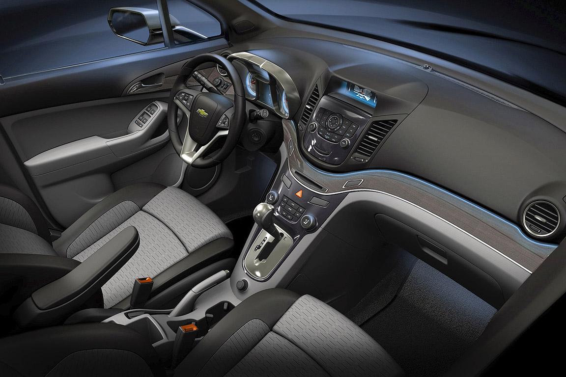 Studie Chevrolet Orlando