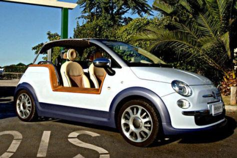 Fiat 500 TenderTwo von Castagna