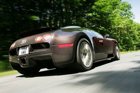 Fahrbericht Bugatti EB 16.4 Veyron