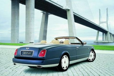 Bentley Arnage Drophead Coupé