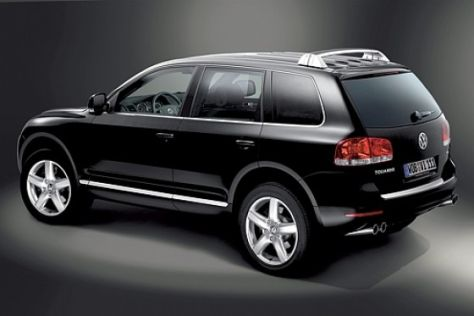 vw touareg  executive autobildde