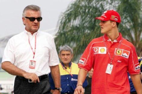Michael Schumacher und Ferrari
