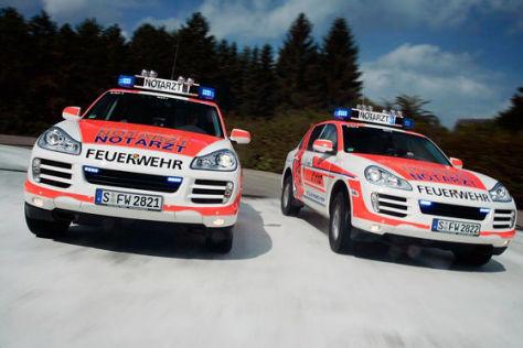 Porsche Cayenne Feuerwehrwagen