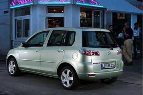 Modellpflege Mazda2