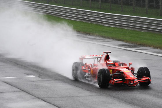 Formel 1, GP von Italien Monza 2008, Kimi Röikkönen, Ferrari