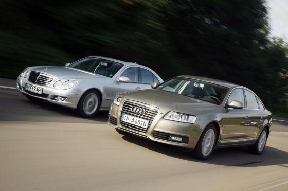 Audi A6 2.0 TDIe Mercedes-Benz E 200 CDI