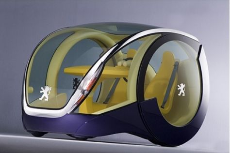 Peugeot auf der IAA 2005