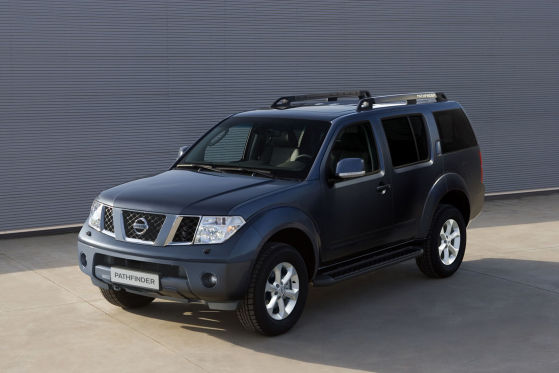 nissan navara pathfinder mit platin veredelt. Black Bedroom Furniture Sets. Home Design Ideas
