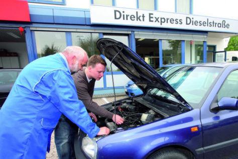 Direkt Express heißt der neue Billig-Reparaturservice von Volkswagen.