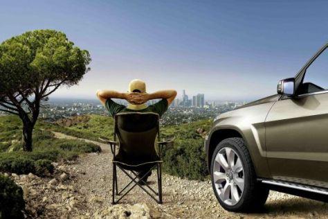 Mercedes verkauft lässige Lifestyle-Accessoires für GLK-Fahrer.