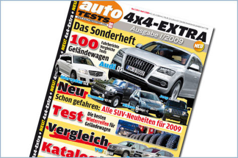 AUTOMOBIL TESTS 4x4-EXTRA 01-2009
