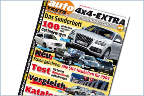 AUTOMOBIL TESTS 4x4-EXTRA 01-2009
