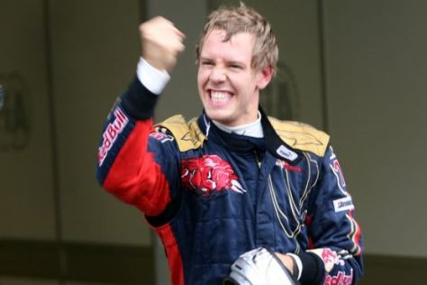 Formel 1, GP von Italien Monza 2008, Sebastian Vettel, Scuderia Toro Rosso