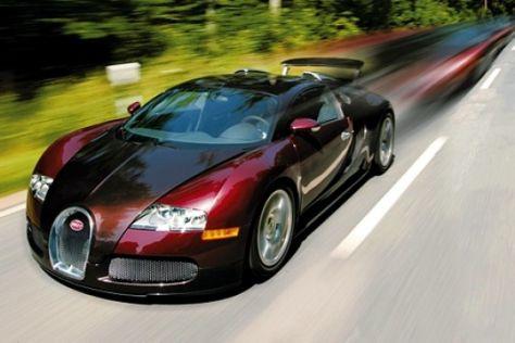 Produktionsstart Bugatti Veyron