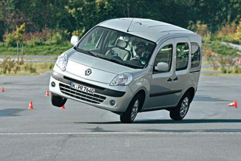 Renault Kangoo im ADAC-Elchtest