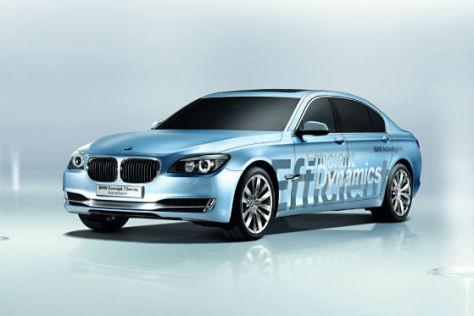 BMW rüstet den neuen 7er mit Hybridantrieb auf.