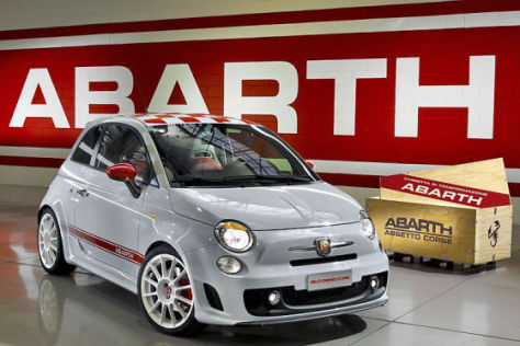Fiat 500 Abarth Esseesse in Paris