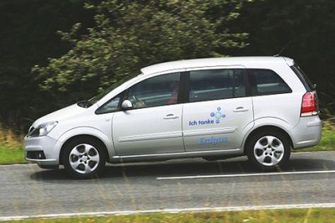 Fahrbericht Opel Zafira 1.6 CNG