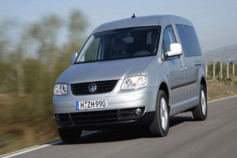 VW Caddy Maxi Ecofuel
