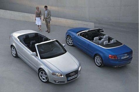 Modellpflege Audi A4 Cabrio