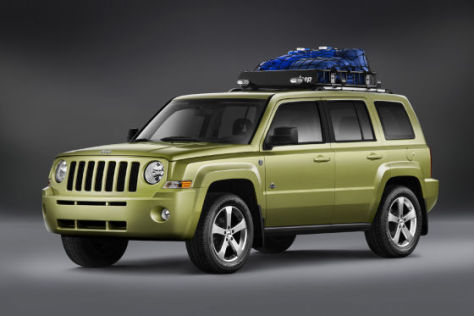 Jeep-Studie Patriot Back Country