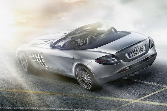 Mercedes-Benz SLR Roadster S 722