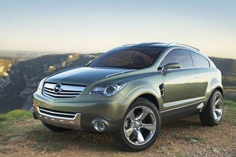 Opel-Studie Antara GTC