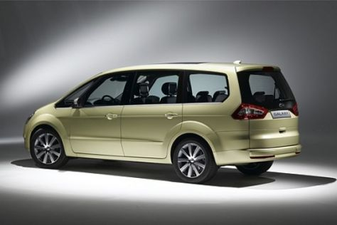 Weltpremiere Ford Galaxy II