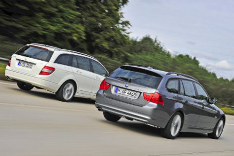 Mercedes-Benz C 220 CDI T-Modell BMW 320d Touring