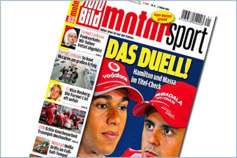 AUTO BILD MOTORSPORT 21-2008, Formel 1, DTM, MotoGP, Rallye und Breitensport