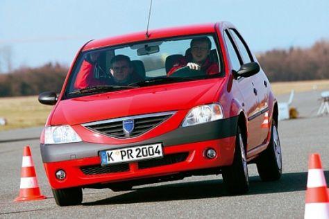 Dacia Logan ist kippsicher