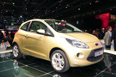 Ford Ka Brennstoffzelle