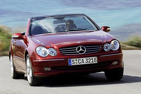 2003 kam die zweite Generation des CLK-Cabrios (Werksbezeichnung A 209).