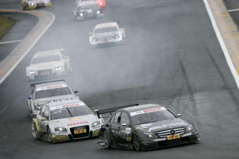 DTM 2008 Le Mans, Paul di Resta, Mercedes C Klasse.