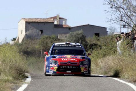 WRC-Rallye Weltmeisterschaft 2008 Spanien, Sébastien Loeb, Citroen C4