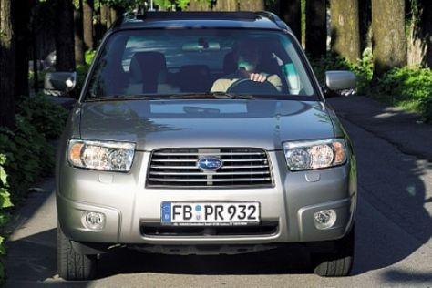 Fahrbericht Subaru Forester 2006