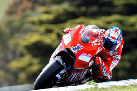 MotoGP Australien 2008, Casey Stoner, Ducati