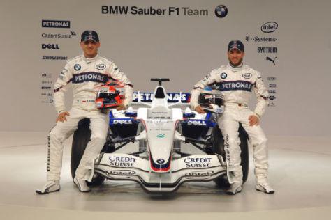 Formel 1 Team BMW, Nick Heidfeld und Robert Kubica