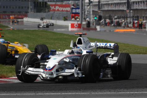 Formel-1-Rennkalender, F1 in  Montreal/Kanada  2008, Nick Heidfeld, BMW