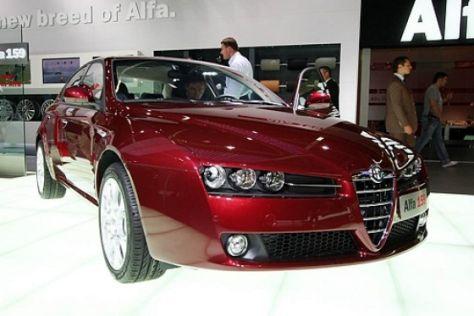 Verkaufsstart Alfa 159