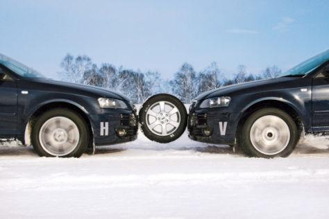 Winterreifen-Test  205/55 R 16 H & V