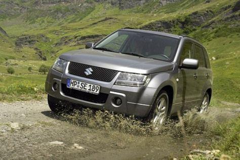 Fahrbericht Suzuki Grand Vitara 2.0