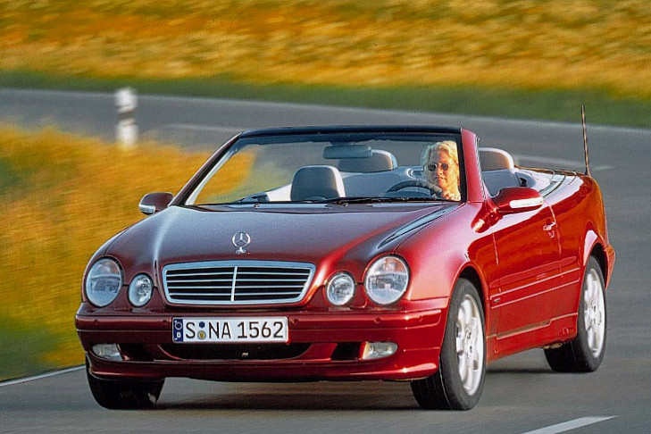 Mercedes Cabriolet Coupe
