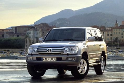 Facelift Toyota Land Cruiser 100