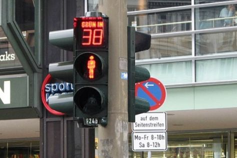 Erste Countdown-Ampel in Hamburg