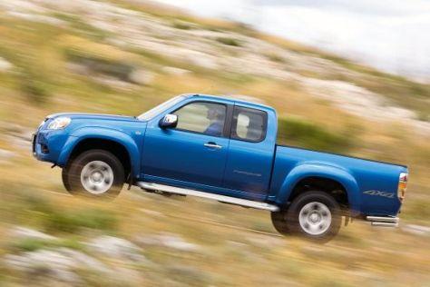 Mazda hat den Offroad-Pickup BT-50 einer Schönheitskur unterzogen.