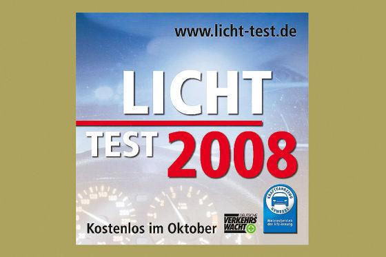 Plakat Lichttest 2008